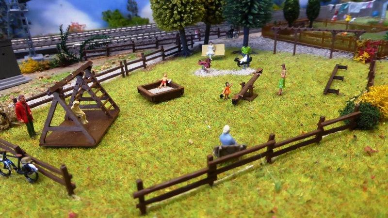 Décors jardins ouvriers