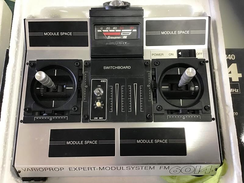 Radiocommande GRAUPNER